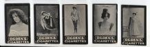 Tobacco Cigarette Cards Photo circa 1902 Theatre Actresses sensual #009